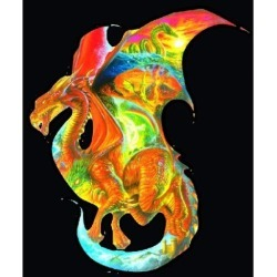 SunsOut Dragon Dreams Shaped 1000 Piece Jigsaw Puzzle
