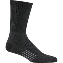 WigWam Cool Lite Hiker Crew Black/Charcoal Socks F6067-040