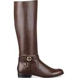 06139be9b9fa66 Tommy Hilfiger Womens Ilia2 Leather Round Toe Knee High Riding Boots found  on MODAPINS from MassGenie