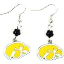 Iowa Hawkeyes NCAA Sophie Style Dangle Earrings