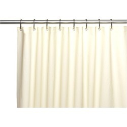 Carnation Home Fashions Extra Long, Clean Home Liner in Ivory