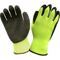Cordova sp3991xl hi-visibility lime latex palm glove x-large found on Bargain Bro India from MassGenie for $6.62