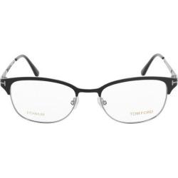 FT5381 005 52 Wayfarer Black Eyeglass