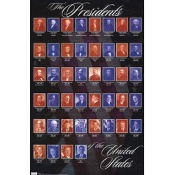 Presidents of the United States of America Poster Poster Print found on Bargain Bro India from MassGenie for $8.49