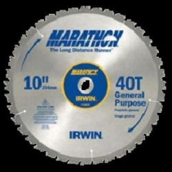 "Irwin 14083 Marathon Trim/finsh Circular Saw Blade 12"", 80teeth"