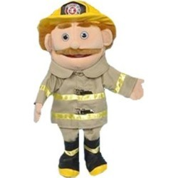 "Sunny Toys 14"" Dad/Fireman Glove Puppet"