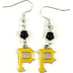 Pittsburgh Pirates MLB Sophie Style Dangle Earrings
