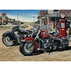 Cobble Hill Two for the Road 1000 Piece Jigsaw Puzzle