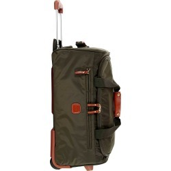 "X-Bag 21"" Carry-On Rolling Duffle Bag - Olive"