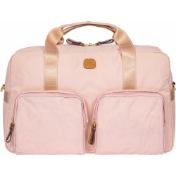 """X-Bag 18"""" Boarding Duffle Bag with Pockets - Pink"""