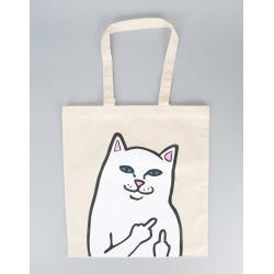 805a62d2bcba RIPNDIP Lord Nermal Tote Bag - White (One Size Only) found on MODAPINS from