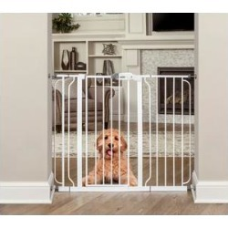 Regalo Widespan Extra Tall Walk-Through Gate, 37-in found on Bargain Bro India from Chewy.com for $49.98