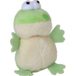 Multipet Look Who's Talking Cat Toy, Frog