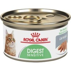 Royal Canin Digest Sensitive Loaf in Sauce Canned Cat Food, 3-oz, case of 24