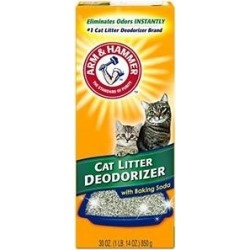 Arm & Hammer Litter Cat Litter Deodorizer Powder, 30-oz box found on Bargain Bro Philippines from Chewy.com for $2.79