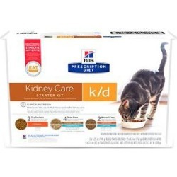 Hill's Prescription Diet k/d Kidney Care Variety Pack Wet & Dry Cat Food found on Bargain Bro India from Chewy.com for $17.99
