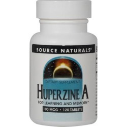 Source Naturals Huperzine A 100 mcg Standardized Extract-120 Tablets found on Bargain Bro India from Puritan's Pride for $17.15