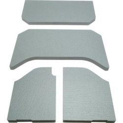 Boom Mat Jeep Sound Deadening 11-Up Wrangler 4-Piece, 4-Door Gray found on Bargain Bro India from Crutchfield for $264.99