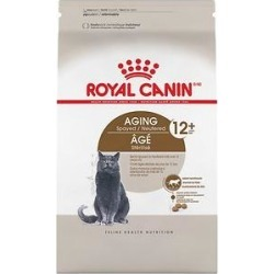 Royal Canin Aging Spayed/Neutered 12+ Dry Cat Food, 7-lb bag found on Bargain Bro India from Chewy.com for $26.09