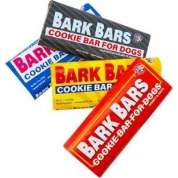 Bark Bars Cookie Bars Variety Pack Dog Treats, 4 count