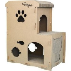 Petique Meowhouse Cat Scratcher Toy found on Bargain Bro from Chewy.com for USD $40.27