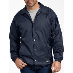 Dickies Men's Snap Front Nylon Jacket - Dark Navy Size 2Xl 2Xl (76242) found on Bargain Bro India from Dickies.com for $34.99