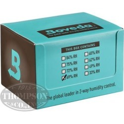 Boveda Humi-Pack 69% Humidity 100 Pack - Pack (100) found on Bargain Bro Philippines from thompsoncigar.com for $349.99