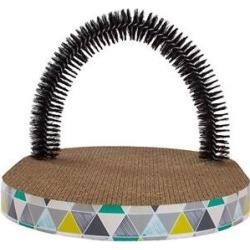 Petstages Scratch & Groom Scratch Pad & Grooming Brush Cat Toy found on Bargain Bro from Chewy.com for USD $12.91