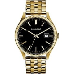 Caravelle by Bulova Men's Stainless Steel Watch - 44B121, Size: Large, Yellow found on MODAPINS from Kohl's for USD $125.00