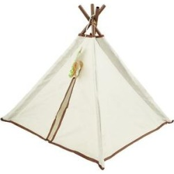 SmartyKat Kitty Camp TeePee Cat Toy found on Bargain Bro India from Chewy.com for $11.99
