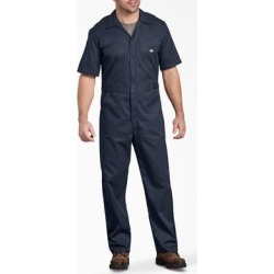 Dickies Men's Big & Tall FLEX Short Sleeve Coveralls - Dark Navy Size XL (33274) found on Bargain Bro Philippines from Dickies.com for $43.99