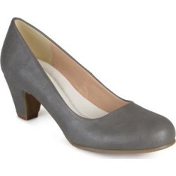 Journee Collection Women's Comfort Luu-m Pumps - Grey found on Bargain Bro Philippines from macys.com for $65.00