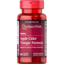 Puritan's Pride Apple Cider Vinegar Formula-90 Tablets found on Bargain Bro India from Puritan's Pride for $8.99