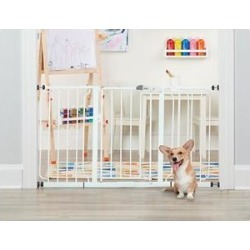 Regalo Extra Wide Walk-Through Gate, 30-in found on Bargain Bro India from Chewy.com for $58.99