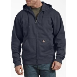Dickies Men's Fleece Full Zip Hoodie - Dark Navy Size XL XL (TW291) found on Bargain Bro India from Dickies.com for $32.99