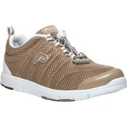Extra Wide Width Women's TravelWalker II Sneaker by Propet in Taupe Mesh (9 XW) found on Bargain Bro India from Woman Within for $59.99