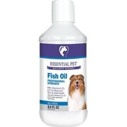 21st Century Essential Pet Fish Oil Professional Strength Liquid Dog Supplement, 8-oz found on Bargain Bro India from Chewy.com for $18.59
