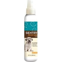 Sentry Anti-Itch Dog Spray, 8.4-oz bottle found on Bargain Bro India from Chewy.com for $9.49