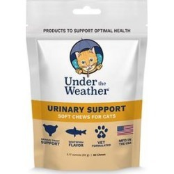 Under the Weather Urinary Support Soft Chews Cat Supplement, 60 count