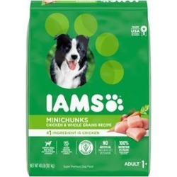 Iams ProActive Health Adult MiniChunks Dry Dog Food, 40-lb bag