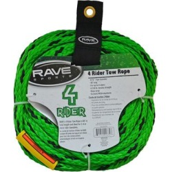 RAVE Sports 4-Rider Towable Tube Tow Rope, Green found on Bargain Bro India from Kohl's for $14.99