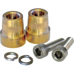 XS Power 586 Tall Brass Post Adaptors M6 for 925,1200 found on Bargain Bro from Crutchfield for USD $7.59