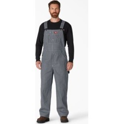 Dickies Men's Hickory Striped Bib Overalls - Blue White Stripe Size 38 32 (83297) found on Bargain Bro India from Dickies.com for $34.99