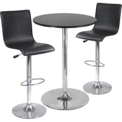 Spectrum 3-Piece Pub Table Set - Black found on Bargain Bro India from macys.com for $836.00