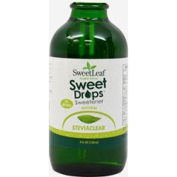 Sweet Leaf Stevia Liquid Extract Sweet Drops Sweetener-4 fl oz Liquid