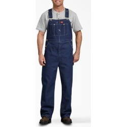 Dickies Men's Big & Tall Bib Overalls - Rinsed Indigo Blue Size 46 30 (DB100) found on Bargain Bro Philippines from Dickies.com for $43.99