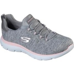 Women's The Summits Quick Getaway Sneaker by Skechers in Grey Medium (11 M) found on Bargain Bro India from Woman Within for $49.99