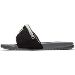d192eb6a9529 Nike Benassi JDI Fanny Pack - Black Cool Grey-Summit White - AO1037-