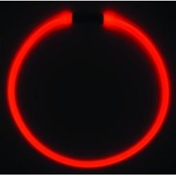 Nite Ize NiteHowl LED Safety Necklace Dog Collar, Red found on Bargain Bro Philippines from Chewy.com for $9.59