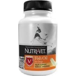 Nutri-Vet Fish Oil Dog Softgels, 100 count